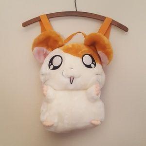Handbags - Hamtaro Plush Novelty Backpack